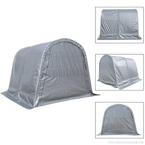 Kdgarden Heavy Duty Canopy Storage Shelter 10 X 10 Portable