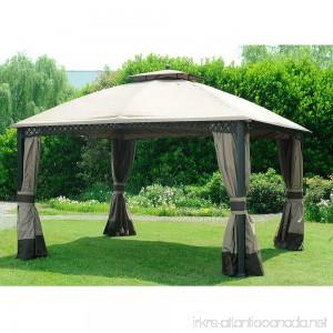 Sunjoy Replacement Mosquito Netting for 10x12 ft Windsor Gazebo - B06XTTCPXJ