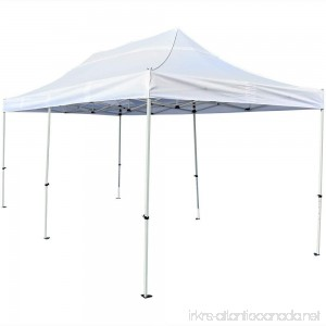 Sunnydaze Quick-Up Instant Pop-Up Canopy Party and Wedding Shelter 10 x 20 Foot White - B071184CSJ