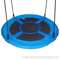 60cm/24 Disc Nest Web Rope Hanging Tree Swing Seat Set Heavy Duty Easy to Set Up For Kids Children Outdoor Backyard Garden Small Size - B07BSCW4GM