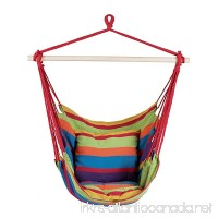 BuyHive Patio Hammock Chair Hanging Rope Porch Seat Indoor Outdoor Swing - B075S1YV2P