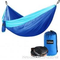Camping Hammock EzGoo Double Hammock Portable Nylon Taffeta for Outdoor Travel - B079265HCR