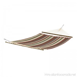 Classic Accessories Montlake FadeSafe Quilted Double Hammock Heather Henna Multi-Stripe - B06ZY3YYBZ