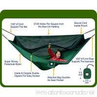"Hammock Bliss No-See-Um No More - The Ultimate Bug Free Camping Hammock - 100"" / 250 cm Rope Per Side Included - Fully Reversible - Ideal Hammock Tent For Camping  Backpacking  Kayaking & Travel - B002COCF3M"