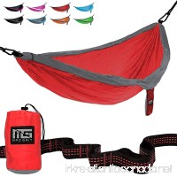 Mad Grit Double Parachute Camping Hammock With Straps & Carabiners by - B06Y4FHSZL