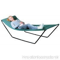 Portable Hammock – Space Saving Outdoor Foldable Free-Standing Hammock – Nylon Fabric with Steel Frame and Carrying Bag for Easy Travel - B00K0ZRRTM