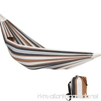 Sunnydaze Extra Large Brazilian Double Hammock with Carry Bag for Indoor or Outdoor Use  Weight Capacity: 450 Pounds  Calming Desert - B01EB7LZ2Y