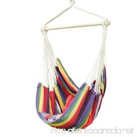 Adeco Antigua Red Hanging Hammock Chair for Indoor and Outdoor Spaces - B00KWG9CEM