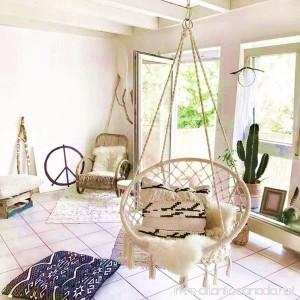 E EVERKING EverKing Hammock Chair Macrame Swing Perfect for Indoor/Outdoor Home Patio Deck Yard Garden 265 Pound Capacity - B01LRX16V0