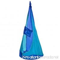 High Five Hammock Hanging Chair Blue - B07D3YFZMS
