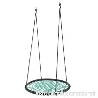 Miageek Outdoor Comfort Durability Hanging Chair Large Hammock Chair Net Round Swing Kit[US STOCK] (Green) - B07CK2CSMK