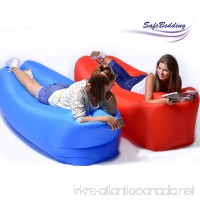 SafeBedding Inflatable Lounger Chair Air Lounger Giant Pool Waterproof Floating Ideal Couch for Beach Hiking Camping Air Hammock for Outdoor and Indoor Use - B07CVZSLCV