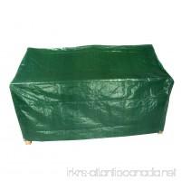 3 Seater Bench Green Garden Protection Waterproof Cover - B00VNUIMGU