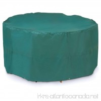 ALEKO CPS042 Weather Resistant Table and Chair Set Patio Cover in Green - Small - B077K8348N