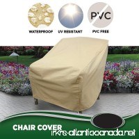 Allen Company Modern Leisure Outdoor Patio Chair Cover  Waterproof  Weatherproof Patio Chair Cover - B005IMZ87A
