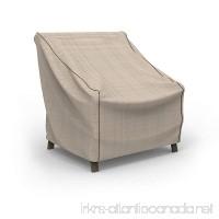 Budge English Garden Patio Chair Cover Medium (Tan Tweed) - B00N2OE5IO