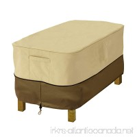 Classic Accessories Veranda Rectangular Patio Ottoman/Side Table Cover - Durable and Water Resistant Patio Set Cover  X-Small (55-644-361501-00) - B01FJRSEHY
