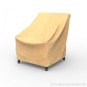 EmpirePatio Low Back Chair Covers 31 in High - Nutmeg - B00P9NKSR8