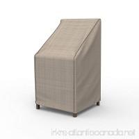 EmpirePatio P1A01PM1 Tan Tweed Stack Chairs / Barstool Cover - B00JJVOJEE