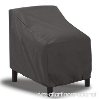 """Foozet Patio Chair Covers  Lounge Deep Seat Cover Waterproof for Outdoor Furniture 32"""" W x 34"""" D x 31"""" H - B07BMYVWJ9"""