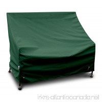 KoverRoos Weathermax 64202 4-Feet Bench/Glider Cover  51-Inch Width by 26-Inch Diameter by 35-Inch Height  Forest Green - B007OSK8GM