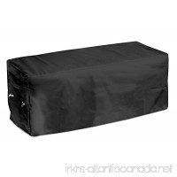 KOVERROOS Weathermax 74207 8-Feet Bench Cover  96-Inch Width by 25-Inch Diameter by 36-Inch Height  Black - B007OSK99I