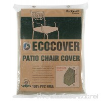 Mr. Bar-B-Q Backyard Basics Eco-Cover PVC Free Premium Patio Chair Cover - B001V7R6DU