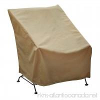 Seasons Sentry CVP01433 High Back Chair Cover Sand - B00MN4YA2U