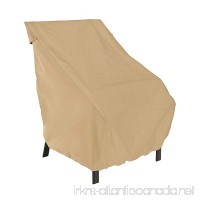 Classic Accessories Terrazzo Patio Chair Cover - All Weather Protection Outdoor Furniture Cover (58912) - B000MU5DE6