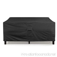 KHOMO GEAR - PANTHER Series - Waterproof Heavy Duty Outdoor Lounge Sofa Patio Cover - Extra Large - 104'' Length - B01N3LSN5B