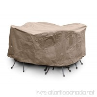 KoverRoos III 35252 Large Bar Set Cover  84-Inch Diameter by 40-Inch Height  Taupe - B002YH57NC