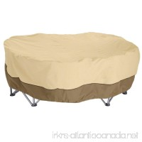 Love Story 84 X 84 X 36 Inches Patio Table and Chair Cover - Durable and Waterproof Outdoor Furniture Cover Medium - B075G897HT
