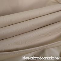 Tangkula Waterproof High Back Patio Loveseat Bench Cover Outdoor Furniture Protection - B01GUZPRME