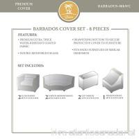 TK Classics BARBADOS-08h Winter Cover Set Beige - B01NAK7XK7