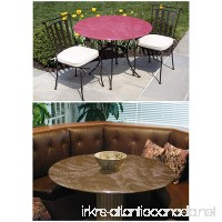 Bistro Round Fitted Tablecover for Glass Tables up to 35 dia. for round tables and patio tables. Color Mint - B079P9H98H