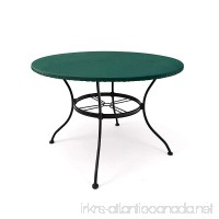 CoverMates – Round Table Top Cover – 54–60 DIAMETER – Classic Collection – 2 YR Warranty – Year Around Protection - Green - B00YI3MXI2