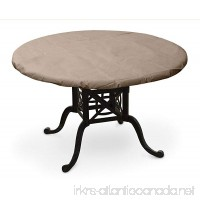 KoverRoos III 31560 50-Inch Round Table Top Cover  54-Inch Diameter  Taupe - B0075BUGOC