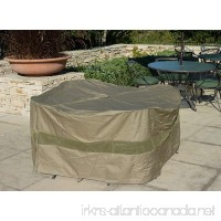 """Patio Set Cover 70"""" Dia. x 30"""" H  Fits Round or Square table set  Center hole for Umbrella - B005LY91JG"""