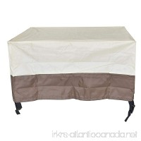Shatex Veranda Oval/Rectangular Patio Table & Chair Set Cover 32x22x17inchs - B01MUDWNGL