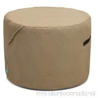 Tarra Home Universal Outdoor Patio Round Table Cover  30-36 D  Presidium Tan - B01DF4QWWM