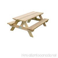 Dan's Outdoor Furniture Mfg. Co. LLC Western Red Cedar Children's Picnic Table - B01N0VPZLK