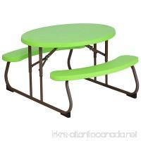 Lifetime 60132 Children's Oval Picnic Table  Lime Green - B00ZGBRQV4