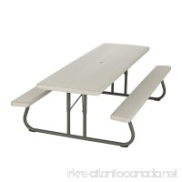 Lifetime 80123 Folding Picnic Table and Benches 8 Feet - B003DZ6IGY