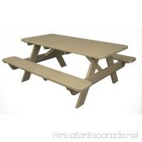 POLYWOOD PT172SA Park 72 Picnic Table Sand - B0085JO0KY