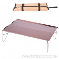 Yosoo Portable Folding Desk  Multi-function Outdoor Lightweight Picnic Dinner Table Camping Fishing Beach - B07CQLGL5M