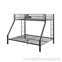 Acme Furniture ACME Limbra Black Sand Twin XL over Queen Bunk Bed - B000FNBRPY