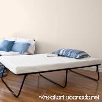 Sleep Master Zinus Traveler Premier Folding Twin Guest Bed Plus Bonus Storage Bag - B00H559E0U