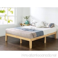 Zinus 14 Inch Wood Platform Bed/No Boxspring Needed/Wood Slat Support/Natural Finish Full - B071JMLX11