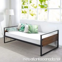 Zinus Ironline Twin Daybed Frame/Premium Steel Slat Support - B077H79Y2L