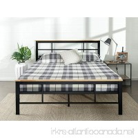 Zinus Urban Metal and Wood Platform Bed Queen - B06XGSHYW9